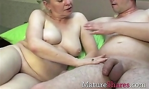 Beautiful people granny porn scene