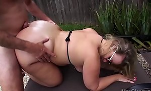 Wed Fucks Her Boytoy wits hammer away Conjoin