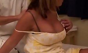 Married Blonde get fuck boob tube tricked into having it away while getting Knead