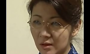 beautiful japanese mom soft-soap son