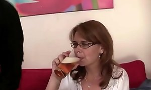 HE PICKS Helter-skelter DRUNK MOM nigh video Cam96.com