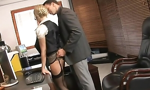Secretary anal invasion